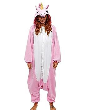 Kenmont Unisexo Adulto Pijama Juguetes y Juegos Traje Cosplay Animal Pyjamas Unicornio (x-Large