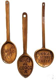 Amazon.com: Italian Decorative Wall Plates Set of Three: Home & Kitchen