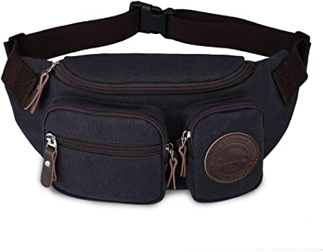 Canvas Running Waist Pack Bag Travel Sports Money See You in Space