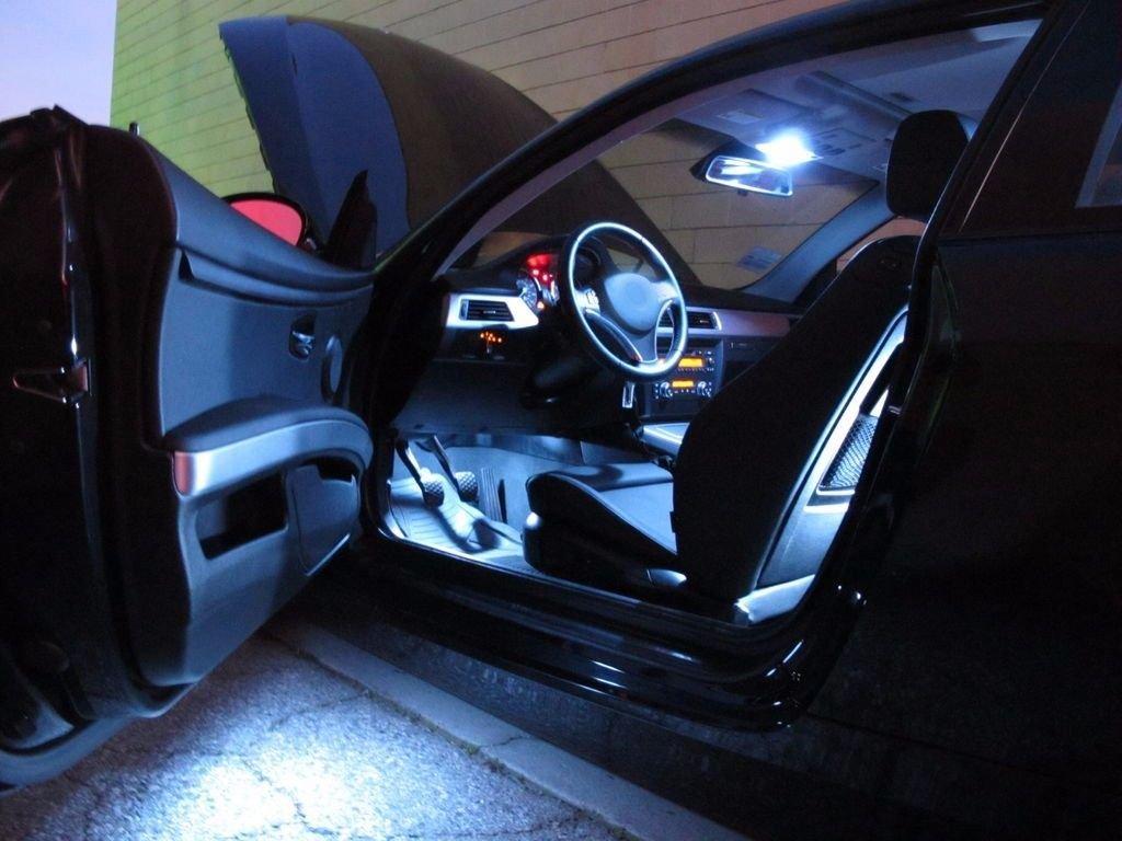 Equinox Global - LED White Lights Interior Dome Trunk Package Kit For  Corvette C4