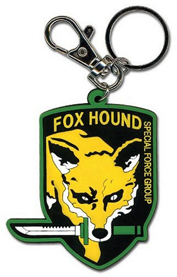 Metal Gear Solid Fox Hound PVC Llavero: Amazon.es: Juguetes ...