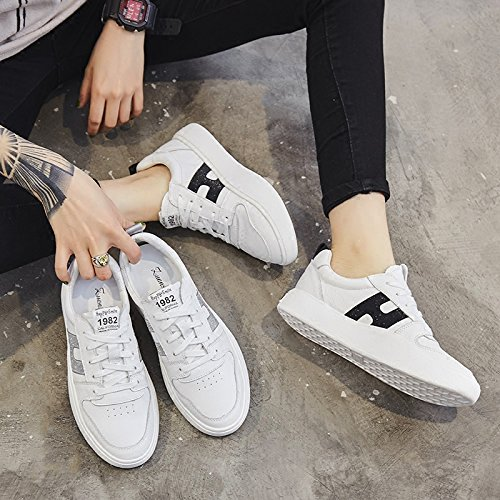 Femeninos Silver amp;G De Mujer Deporte NGRDX Blancos Zapatos Zapatos Zapatos De Casuales 0qzxaP7