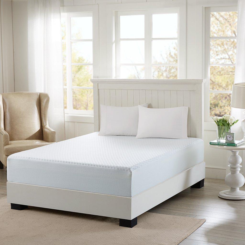 Sleep Philosophy Flexapedic by 12-InchKing-size Gel Memory Foam Mattress