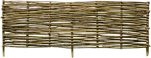 ghuanton Valla de Madera de avellano 150x40 cmBricolaje Vallas de jardín Paneles de Vallas: Amazon.es: Hogar