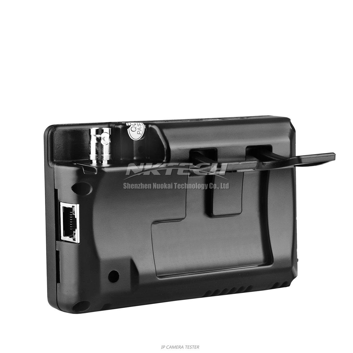 nktech nk-795 IP cámara seguridad CCTV Tester Monitor analógico CVBS cámaras DVR Kits prueba WiFi Audio de 3.5 TFT Touch de pantalla de vídeo 4K ...