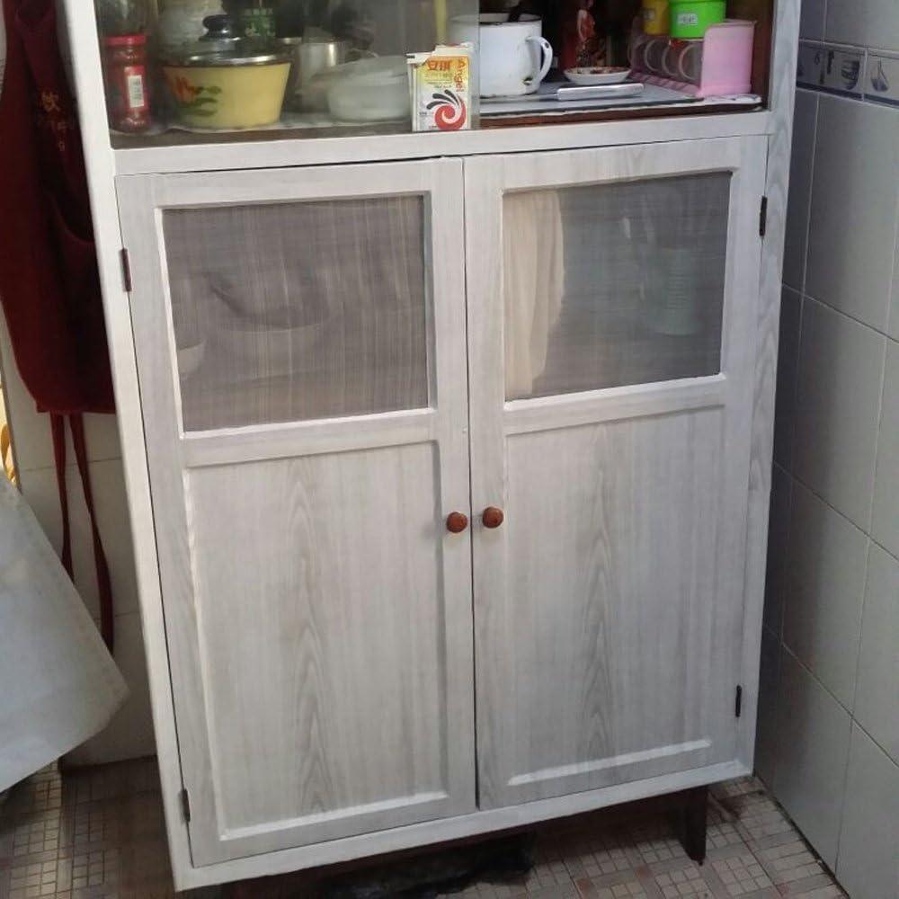 gris, largeur de 45/cm sur une longueur de 10/m armoires Papier adh/ésif aspect bois pour comptoir cuisine mur table bureau porte