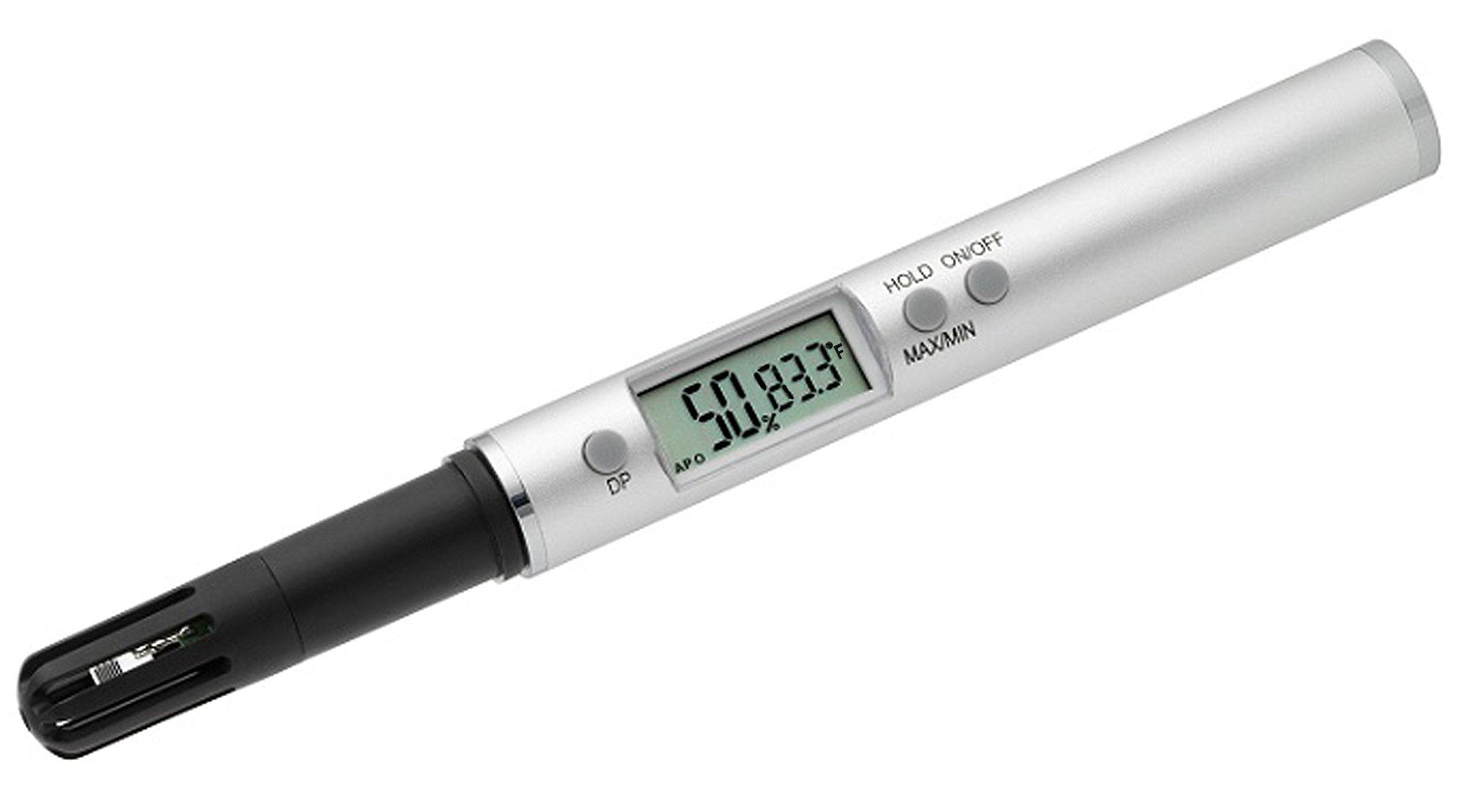 La Crosse Technology 30.5025 Handheld Digital Professional Thermo-Hygrometer