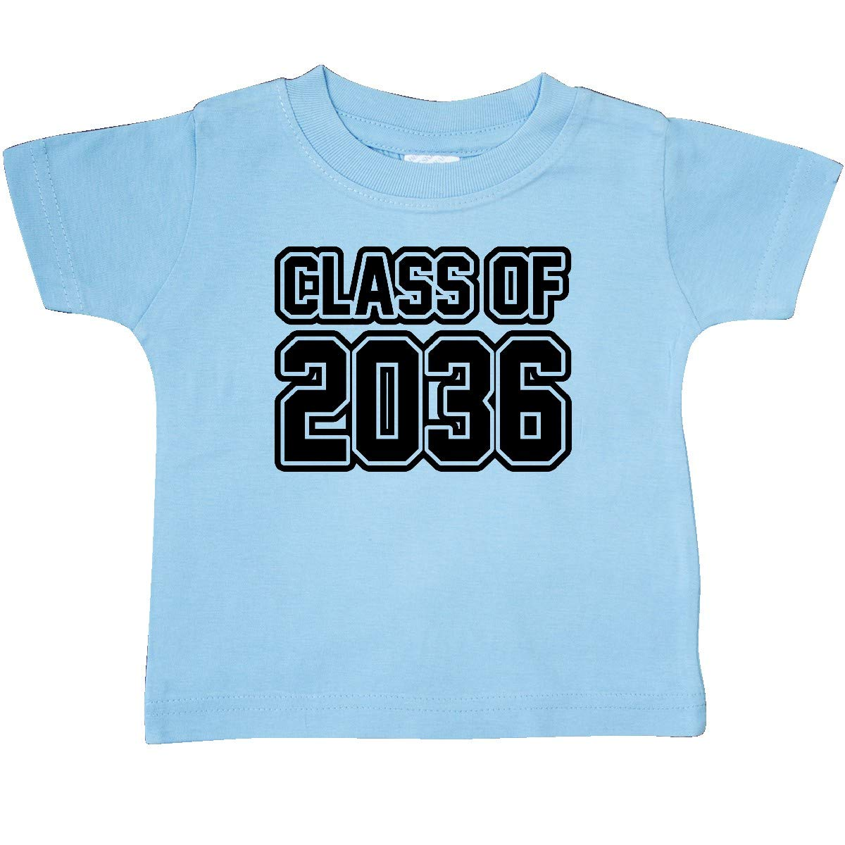 inktastic Class of 2036 in Black Outlined Text Baby T-Shirt