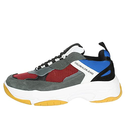 Amazon.com | Calvin Klein Marvin Mesh/Lycra/Suede/Nappa 34S1771-RGH Size 10.0 | Fashion Sneakers