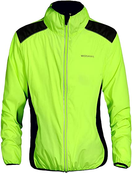NEW Fashion Cycling Bicycle BIKE Coat Windproof Long Sleeve Jersey Jacket Green