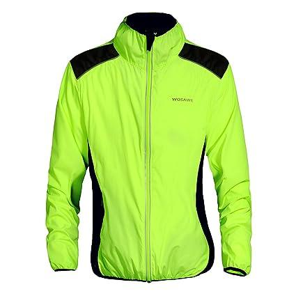 d36d14675 Amazon.com   WOSAWE Cycling Jacket Jersey Sportswear Long Sleeve ...