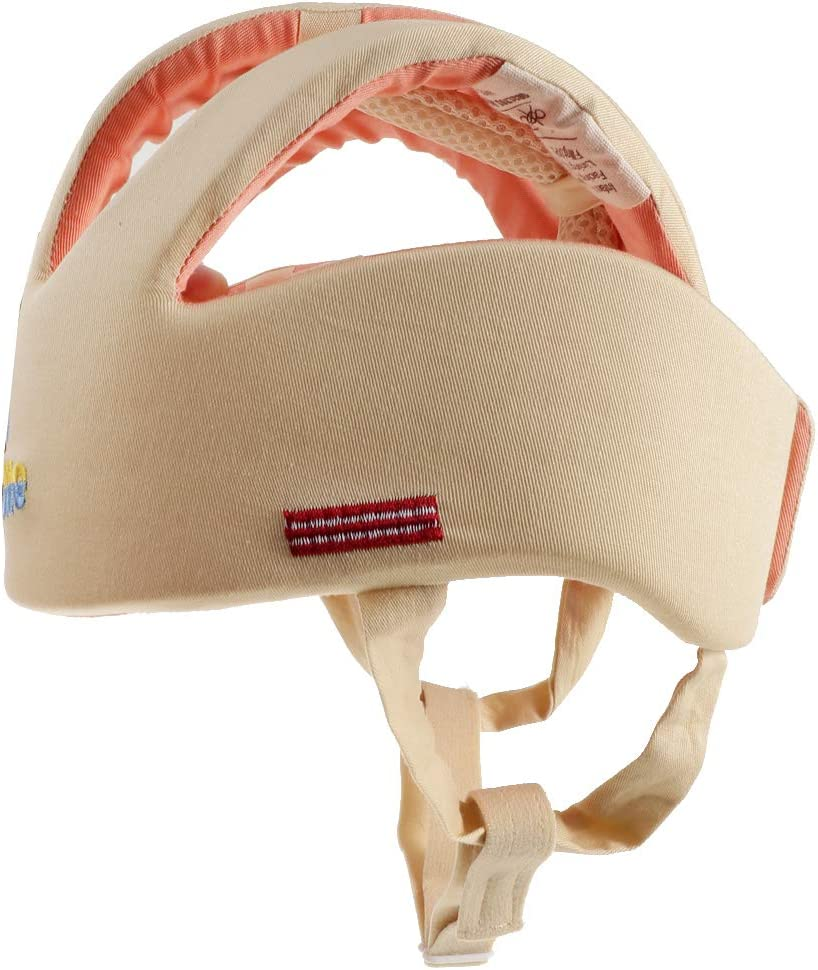 comme d/écrit Beige Toygogo Chapeau Protection De T/ête Pour B/éb/é R/ésistance /à Blessure De T/ête