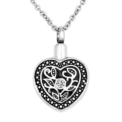 Amazon.com: LoEnMe - Collar con colgante de corazón de ...