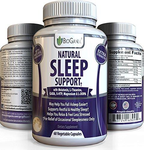 Sleep Well Natural Sleep Aid