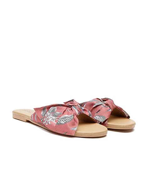 95f3901186a STREETSTYLESTORE Floral-Bow-Flats for Woman & Girls