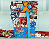Gourmet Foods Gift Baskets, Get Well Soon, Send Your Well Wishes with This Comforting Selection, Guaranteed to Help Them Feel Better. English Breakfast Tea, Organic Honey Candy, Tomato Basil and Chicken and Rice Soups, Milk Chocolate Hot Cocoa, Caramel Lo
