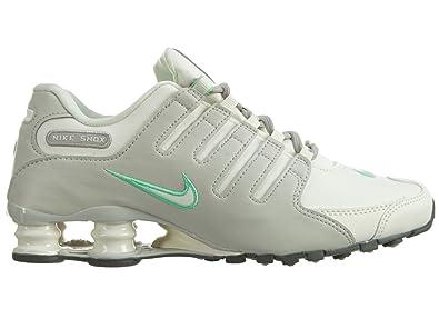 new styles b02c2 f0902 Amazon.com | Nike Womens Shox NZ Sneakers New, Light Bone ...