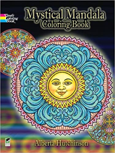 Mystical Mandala Coloring Book Dover Design Coloring Books