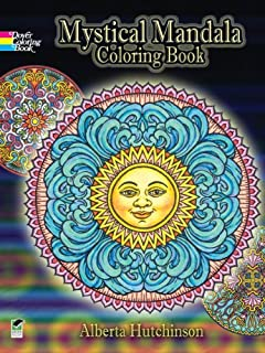 Mystical Mandala Coloring Book (Dover Design Coloring Books) (0486456943) | Amazon Products