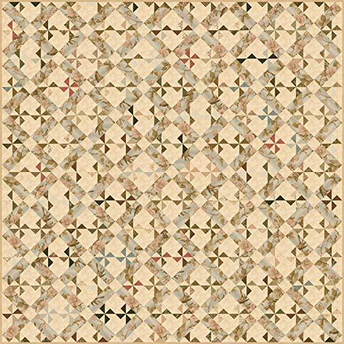 Howard Marcus Collections for a Cause Heritage 10th Anniversary Quilt Kit Moda Fabrics KIT46000 ()