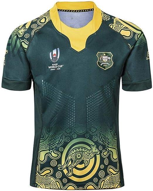 QAZ Ventilador De Rugby 2019 Japón RWC Camiseta De La Selección ...