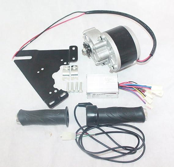 24V 250W Kit motor eléctrico + controlador de motor eléctrico + ...