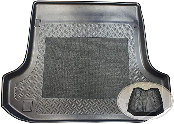 Zentimex Z3033845 Antirutsch Kofferraumwanne Fahrzeugspezifisch Klett Organizer Laderaumwanne Kofferraummatte Auto
