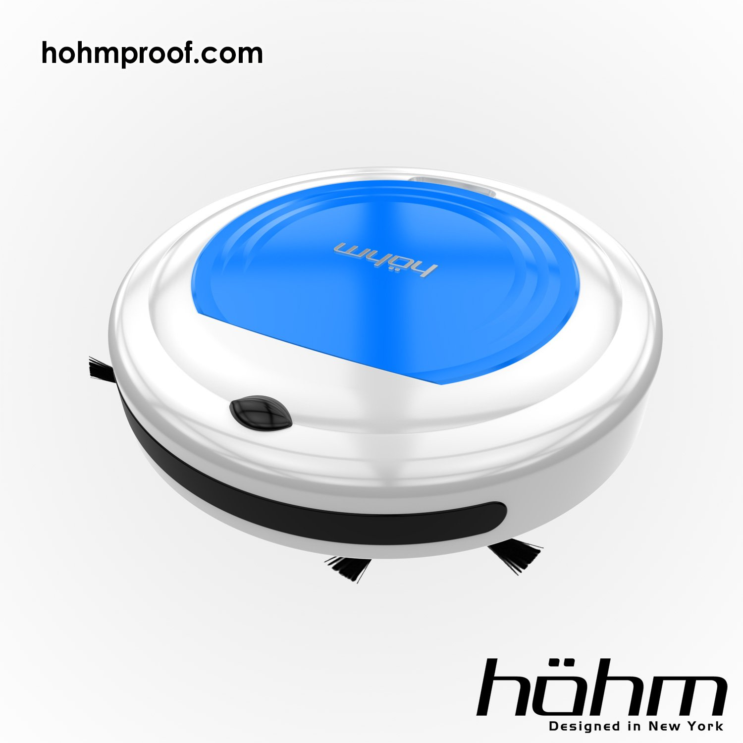 HÖHM DIRTBOT 2.0 Robotic Vacuum Cleaner Blue