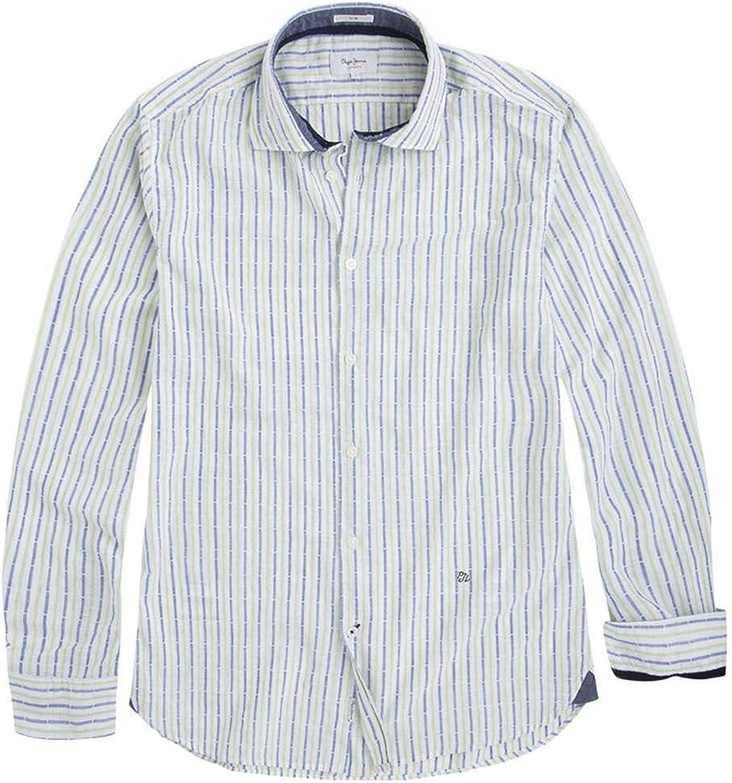 Pepe Jeans Camisa Nolan Rayas Hombre: Amazon.es: Ropa y accesorios