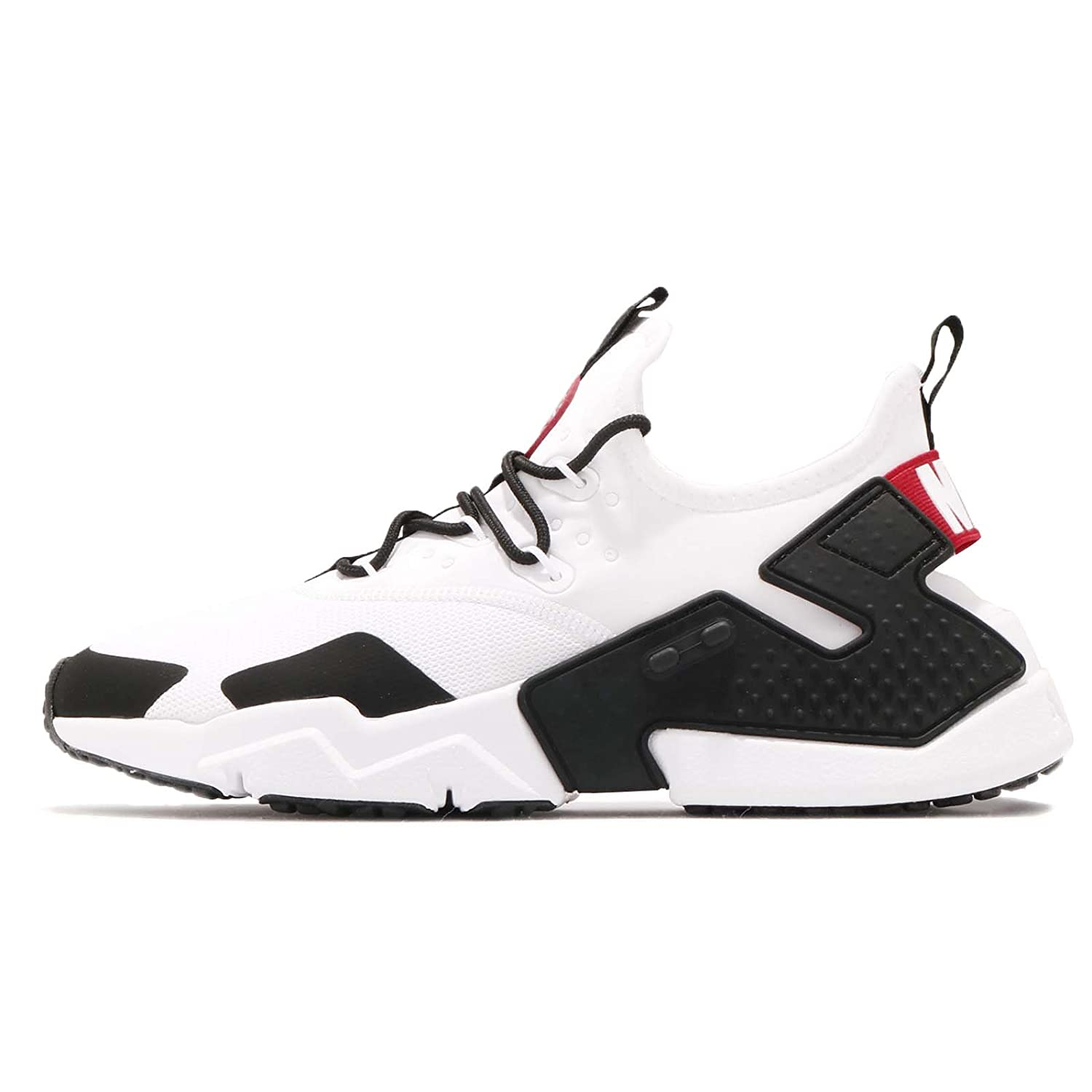 633bc73197f Nike Men's Air Huarache Drift Running Shoe, White/Gym Red-Black-White, 11
