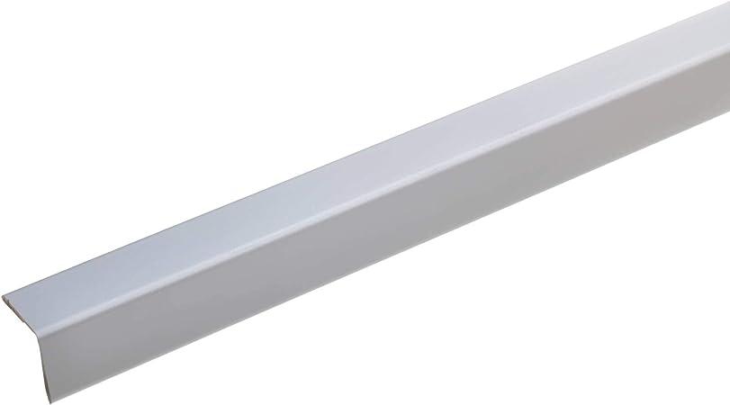 Acerto 38135 Profile De Protection D Angle En Aluminium 100cm 20 X 20mm Autocollant Fabrique En Allemagne Triple Chant Sans Pointe Profile D Angle Corniere Comme Protectionour Bor Amazon Fr Bricolage