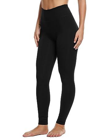 4735f91d48 Ekouaer Women's High Waist Tummy Control Workout Yoga Leggings .