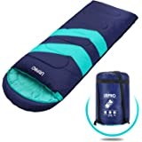 URPRO Sleeping Bag 3-4 Seasons Warm Cold Weather Lightweight, Portable, Waterproof Sleeping Bag with Compression Sack for Adu