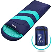 Sleeping Bag 3-4 Seasons Warm Cold Weather Lightweight, Portable, Waterproof Sleeping Bag with Compression Sack for Adults & Kids - Indoor & Outdoor: Camping, Backpacking, Hiking