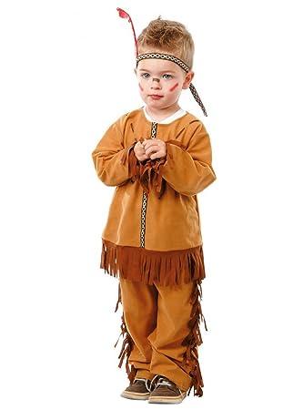 Disfraz de indio (1-12 meses): Amazon.es: Juguetes y juegos