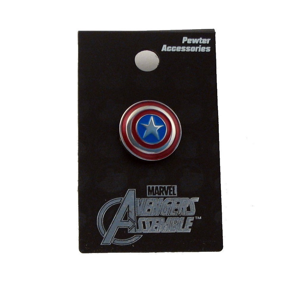 Marvel Captain America Colored Pewter Lapel Pin Monogram International 68249