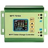 Befaith MPPT Solarpanel Batterie Laderegler Farbe LCD Digitalanzeige Boost Spannungswandler Regler DC 12-60 V Schritt bis zu DC 15-90 V für 24 V / 36 V / 48 V / 60 V / 72 V 0-10A Akku Lade