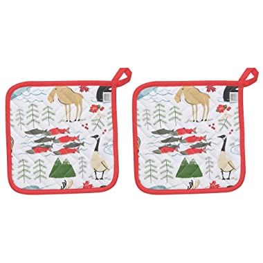 Now Designs Basic Potholder, Set of Two, True North