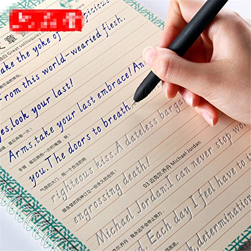 Beauty English Calligraphy handwriting groove training copy English Alphabet words letters auto fade by TanQiang (Image #3)