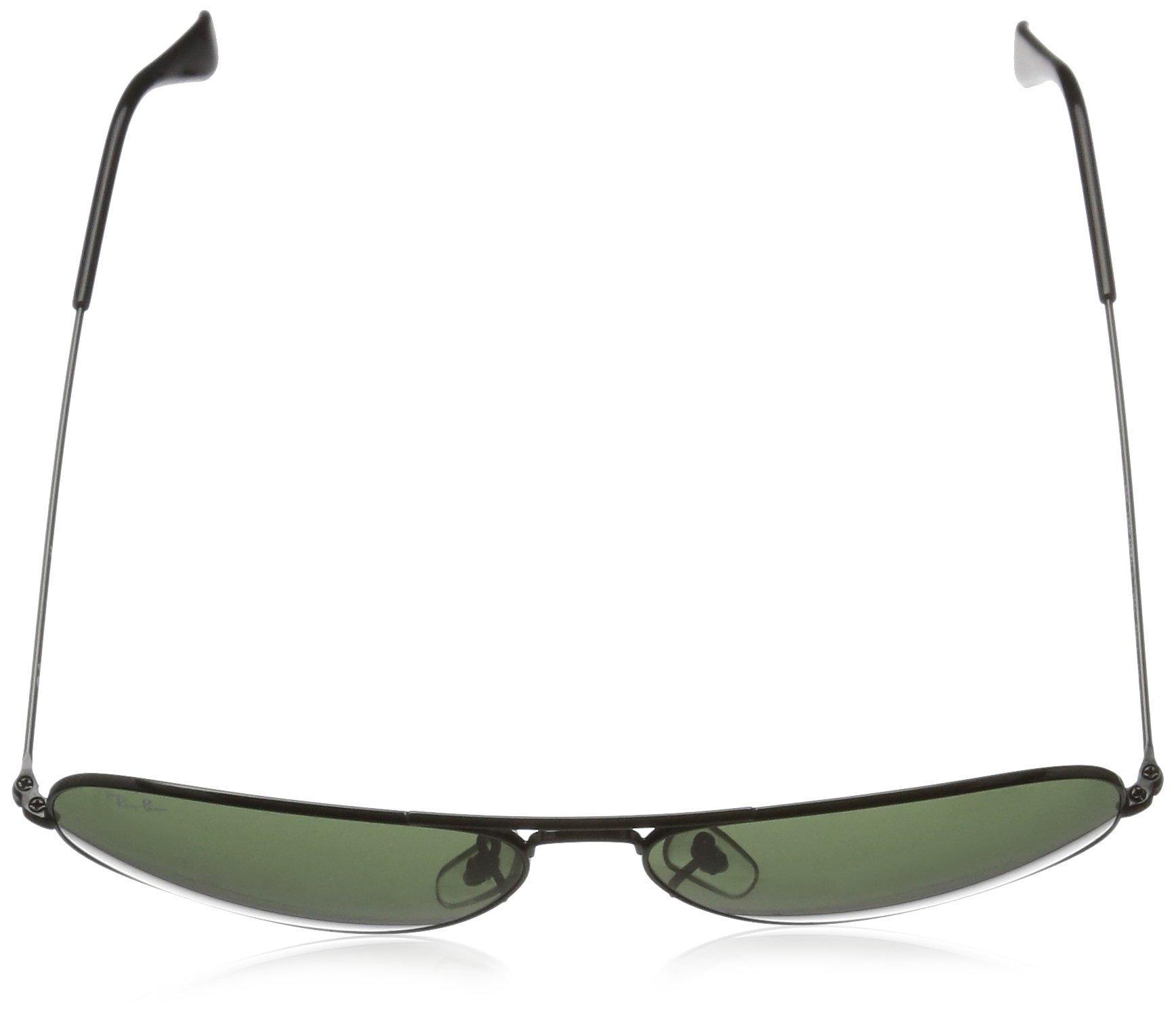 97cf0ffd1e Ray-Ban Sunglasses - RB3026 Aviator Large Metal II   Frame  Black (62mm)  Lens  Green - Rb 3026 L2821   Sunglasses   Clothing