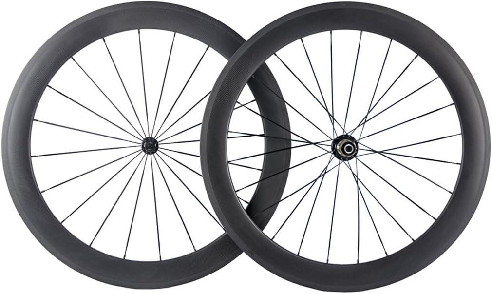 SUPERTEAM Full Carbon Fiber Road Bike Handlebar 400//420//440mm Black Matte