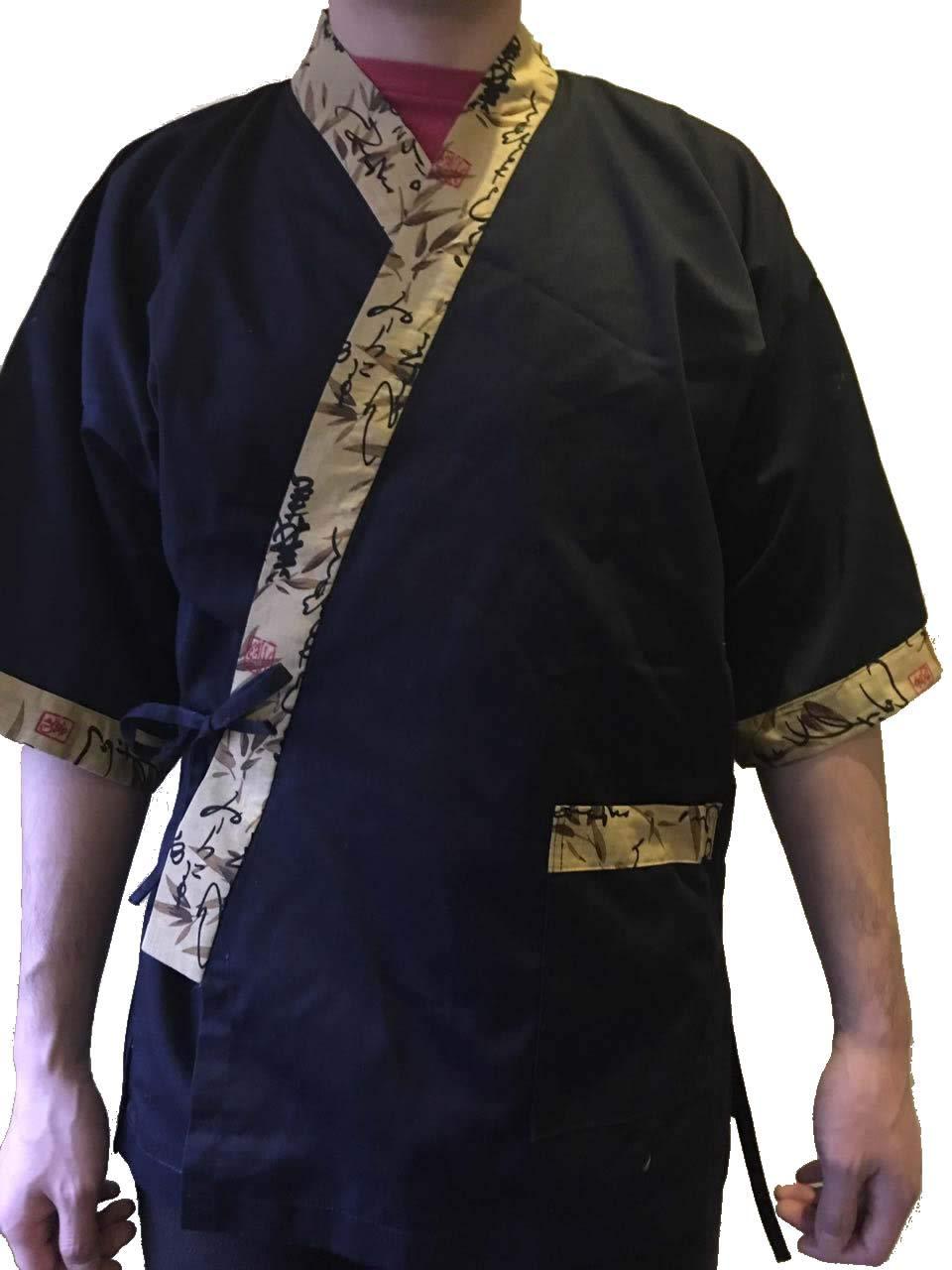 Amazon.com: Chef Coat chamarra Kimono restaurante de sushi ...