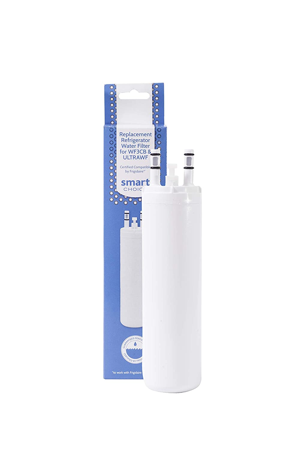 Smart Choice Replacement Water Filter SCWF3CTO for Frigidaire PureSource and Electrolux PureAdvantage Refrigerators