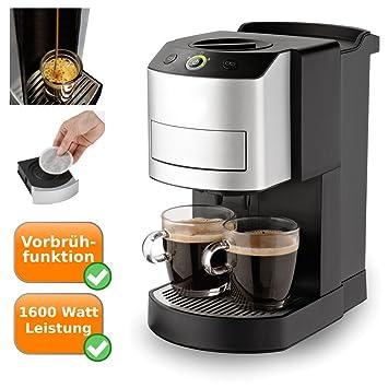 Cafetera de monodosis para 2 tazas de café con función, Pad de cafetera eléctrica