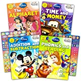 Best Kindergarten Workbooks - Disney Workbooks Super Set Kindergarten First Grade - Review