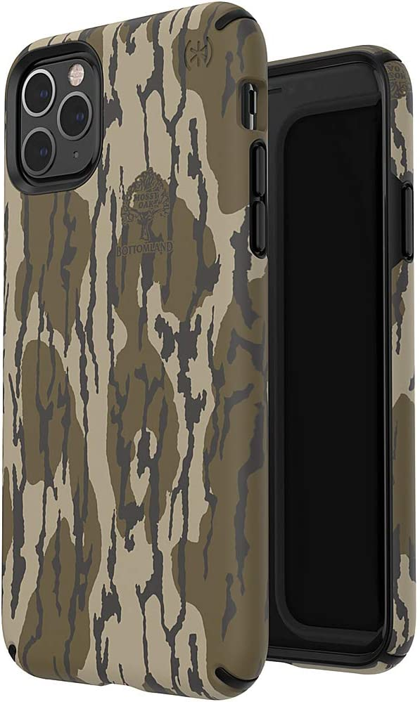 Speck Presidio Inked iPhone 11 Pro Max Case, Mossy Oak Bottomland/Black