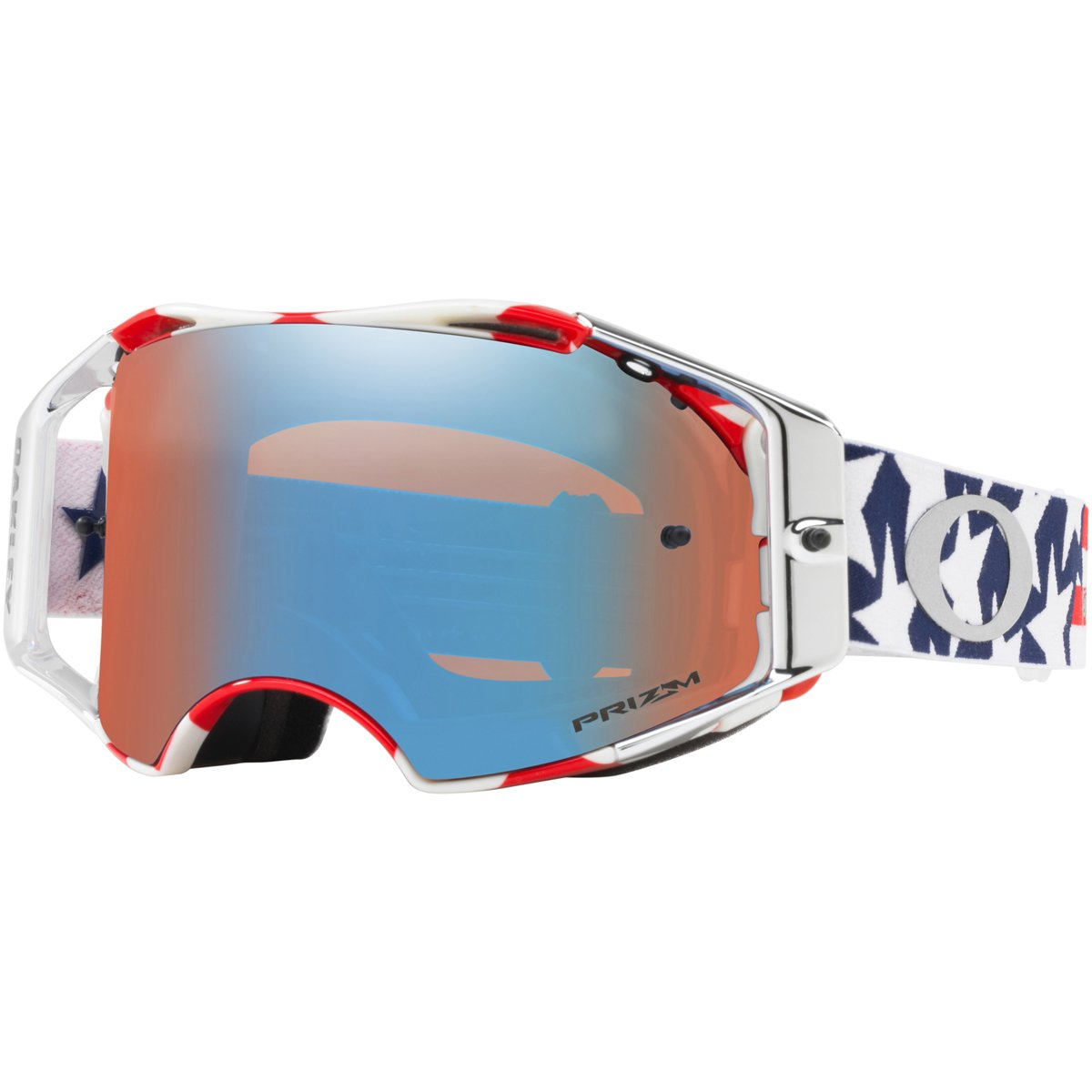 Oakley Unisex-Adult Goggles (White, Medium)