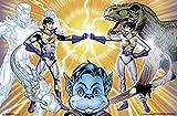 Trends International Super Friends Wonder Twins, 22.375'' x 34'' Wall Poster
