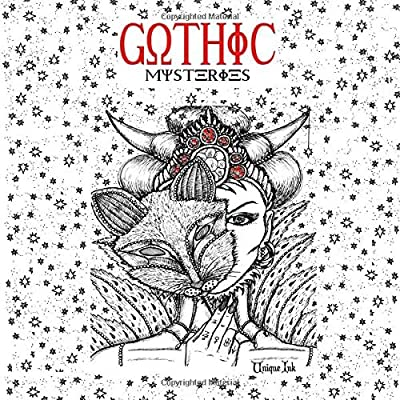 - Gothic Mysteries: Adult Coloring Book (unique Ink): Ink, Unique, Book,  Coloring, Art, Dark, Art, Tattoo: 9781679228599: Amazon.com: Books