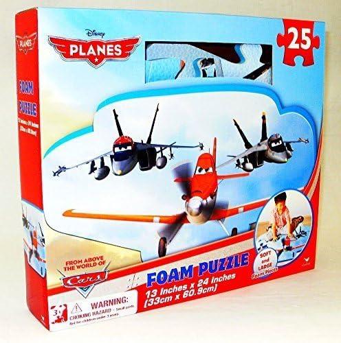 Disney Pixar Planes Foam Floor 25 Pieces Puzzle Amazon Co Uk Toys Games